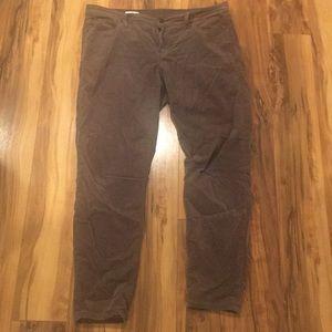 Gap 1969 Brown Corduroy Skinny Legging Jean